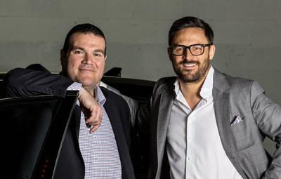 Luciano Butera, vicepresidente ejecutivo y director de operaciones, y Ryan Davidson, director ejecutivo de TRADEX
