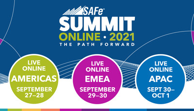 The two-day 2021 Global SAFe Summit will be online in three time zones, Americas, Europe, and Asia