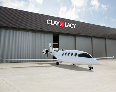 Eviation Partners with Clay Lacy Aviation for Alice All-Electric Aircraft Charging Stations