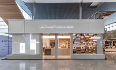 """Moët Hennessy inaugurates a new contemporary concept for """"Les Caves Particulières"""", at Paris-Charles de Gaulle Airport"""